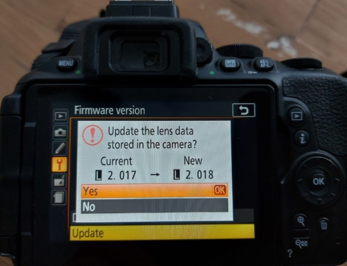 Spiegelreflexcamera Firmware