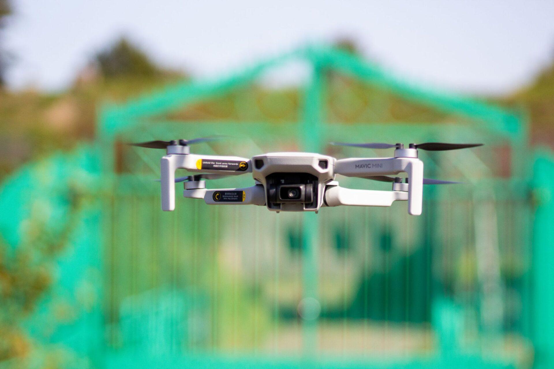 Foto van een drone